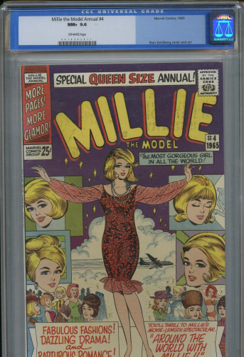 Millie The Model Annual #4 CGC 9.6 NM+