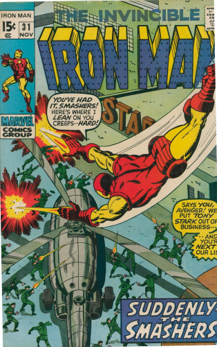 Iron Man #31 (1970) F-VF