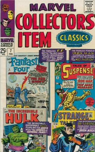 Marvel Collectors Item Classics # 7  (1967)  VG+