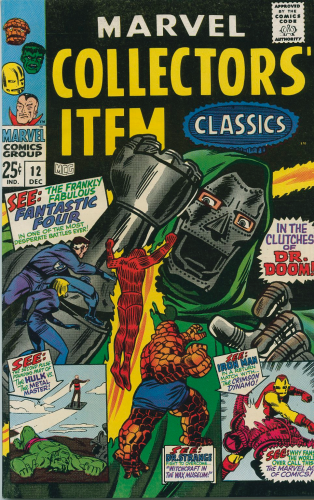 Marvel Collectors Item Classics #12  (1967)  F