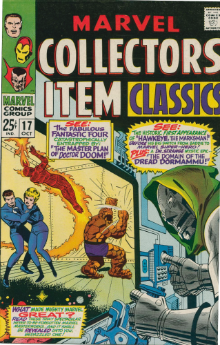 Marvel Collectors Item Classics #17  (1968)  F