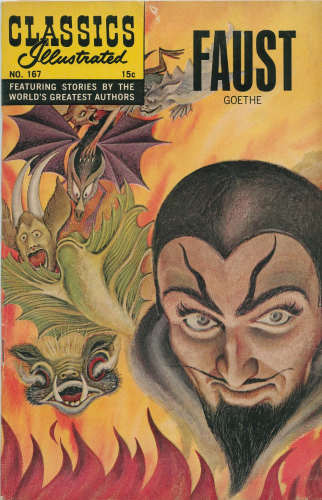 Classics Illustrated #167 Faust