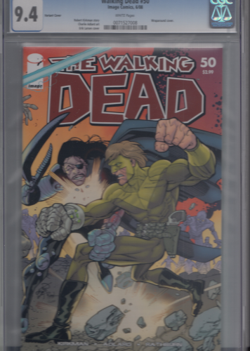 Walking Dead # 50 (Variant Cover) CGC 9.4