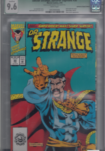 Doctor Strange #50  (1993) variant cover CGC 9.6 Qualified