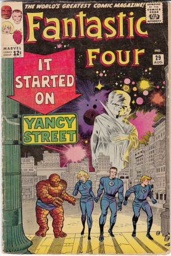 Fantastic Four # 29 (1964)  VG/VG-  Watcher cover