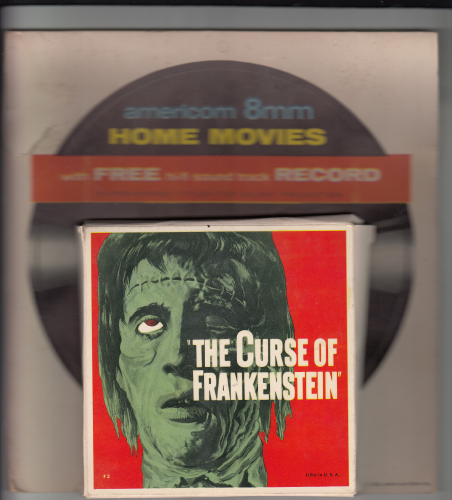 Curse of Frankenstein 8mm Movie with Hi-Fi Record