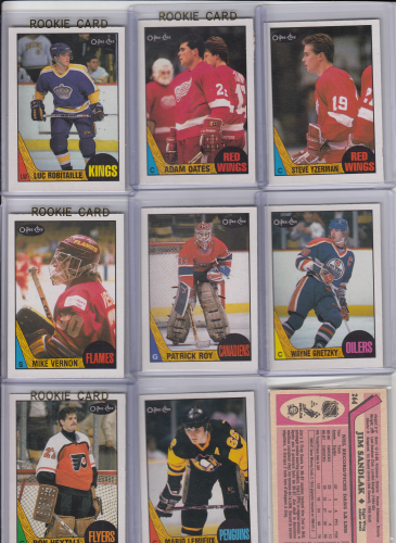 O-Pee-Chee 1987-88 NHL hockey complete set (264)