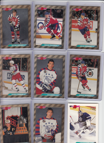 Bowman 1992-93 NHL hockey complete set (442)