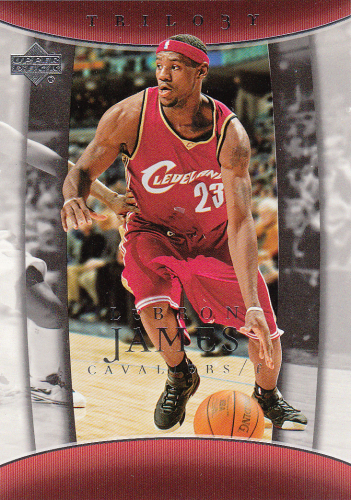 LeBron James 2004/05 NBA UD Trilogy #13