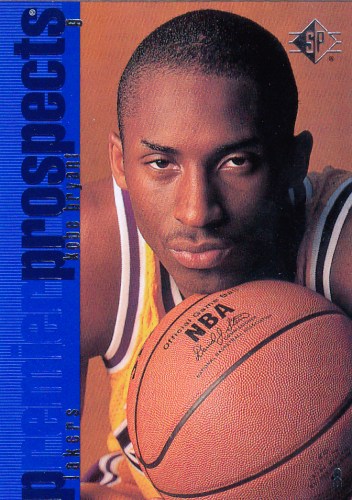 Kobe Bryant (rookie) 1996/97 NBA  SP #134