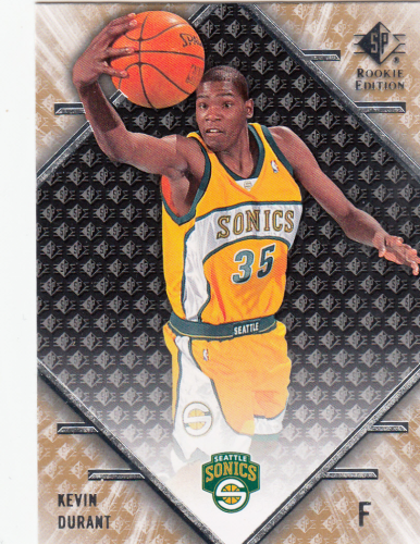 Kevin Durant (rookie) 2007/08 NBA SP Rookie Edition #61