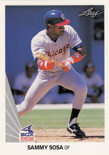 Sammy Sosa (rookie) 1990 MLB Leaf #220