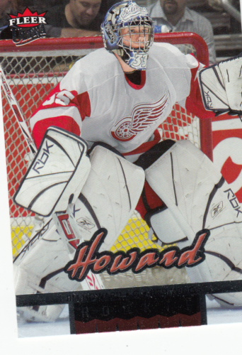 Jimmy Howard (rookie) 2005-06 NHL Fleer Ultra  #270